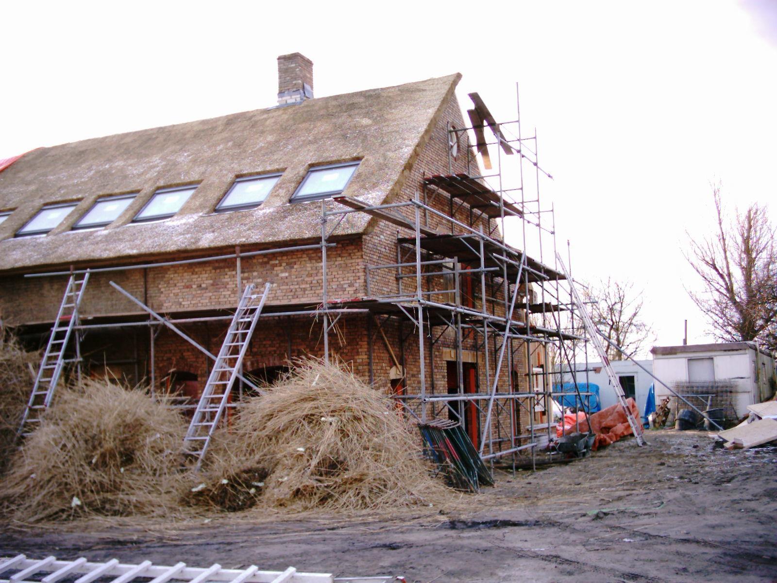 Rieten dak moet dampdicht zijn